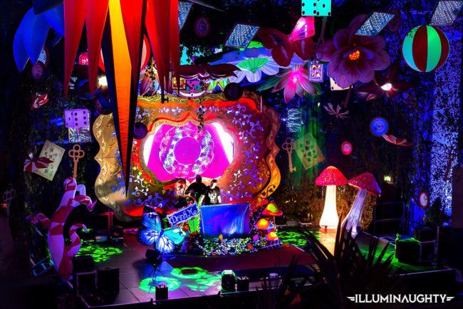 Alice in wonderland theme event